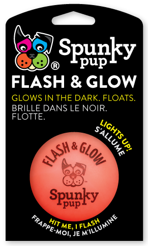 Red Flash & Glow ball