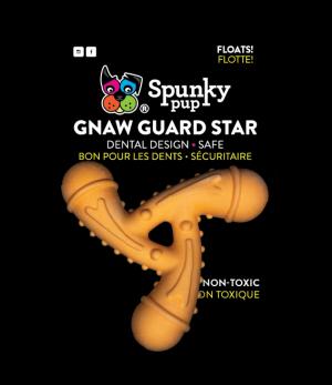 Gnaw Guard Foam Star is dark orange