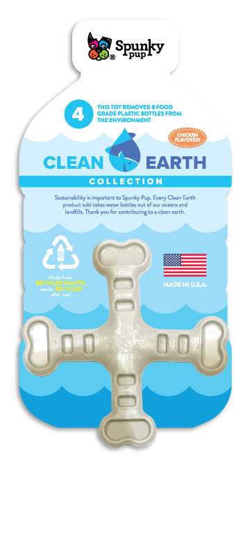 Clean Earth Cross shaped toy