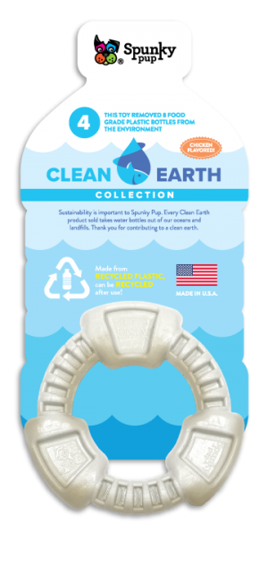 Clean Earth Ring shaped toy